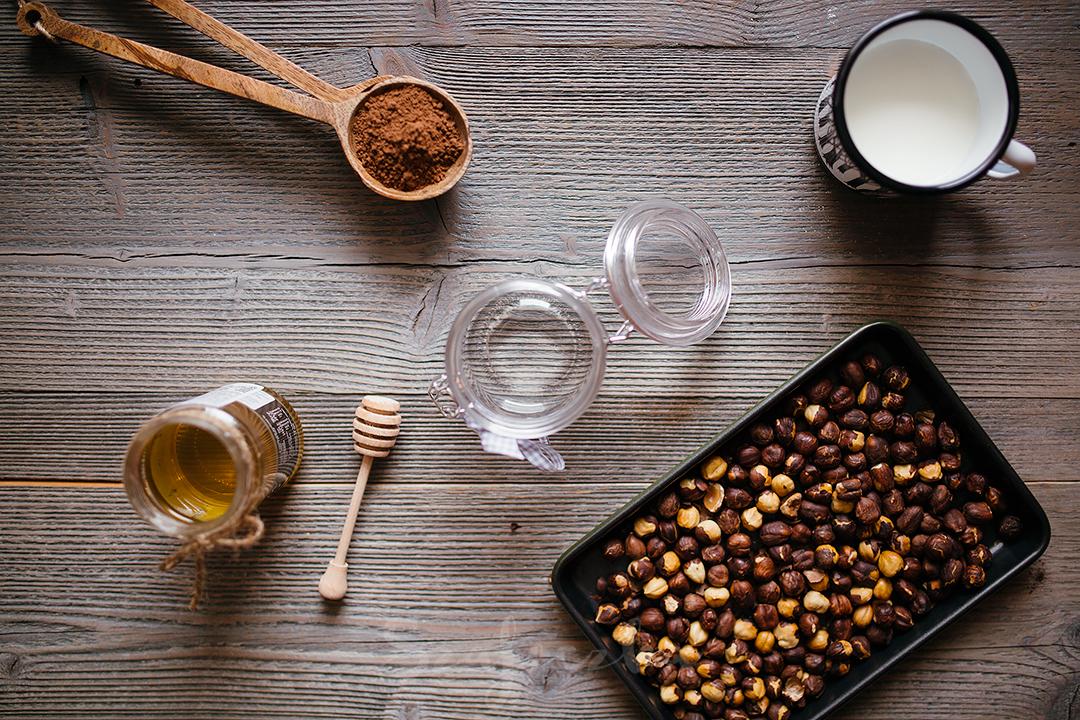 składniki domowa nutella